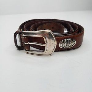 Fossil men's size 40 brown leather belt golf